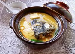 虫草鱼头豆腐汤