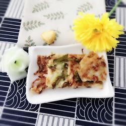 椒盐青椒萝卜饼