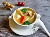 白玉菇鹌鹑蛋肉片蔬菜汤的做法[图]