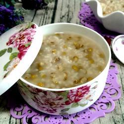 大米绿豆粥的做法[图]