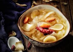 养颜润肺 红枣银耳百合甜汤