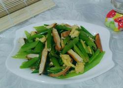 鸡蛋芹菜炒豆干