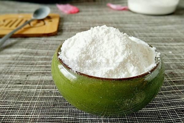 自制防潮糖粉