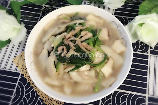 蚝油杏鲍菇菠菜炒肉