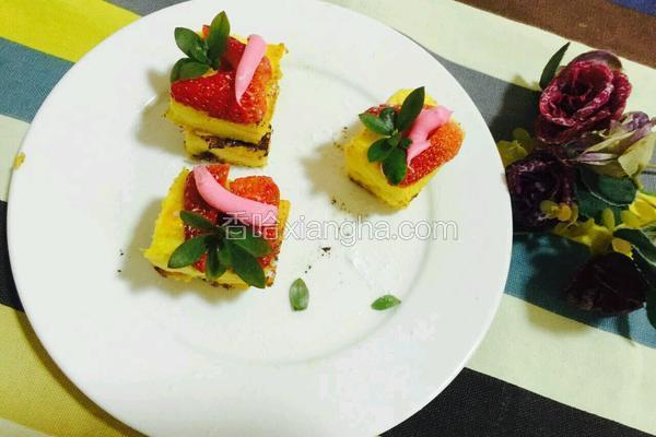 草莓吐司挞