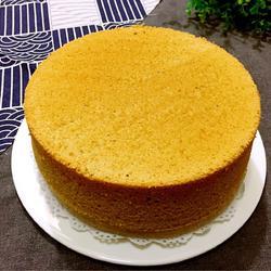 咖啡戚风蛋糕(八寸)
