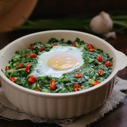 粉蒸韭菜包鸡蛋