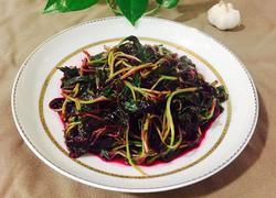 蒜蓉炒红苋菜