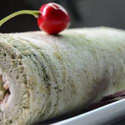 抹茶大理石蛋糕卷