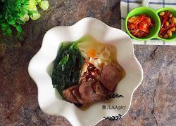 牛肉菠菜面