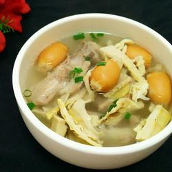笋干排骨汤
