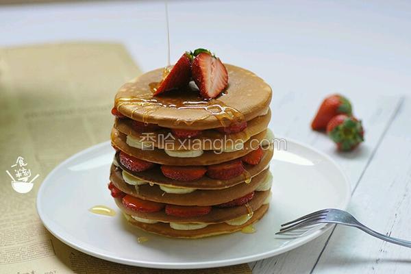 层层叠‖草莓松饼