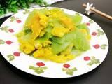 油麦菜苔炒蛋的做法[图]