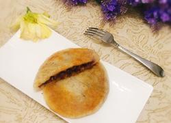红豆糍粑饼