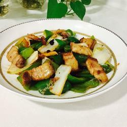 豆豉辣椒回锅肉