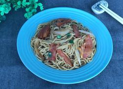 西红柿洋葱炒面