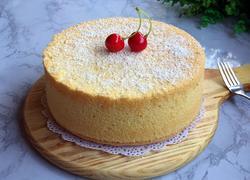 椰香戚风蛋糕