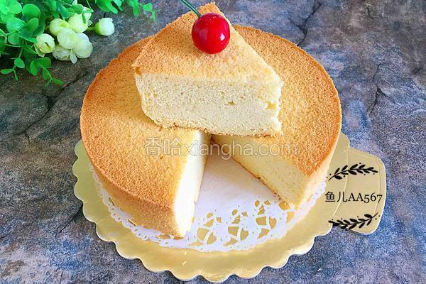 八寸戚风蛋糕