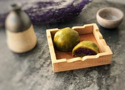 """""""另类""""的紫薯青团,比豆沙青团更软糯,还不用放糖哟"""