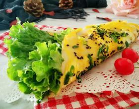 鸡蛋蔬菜卷饼