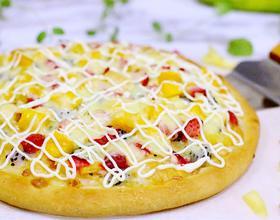 缤纷水果披萨[图]