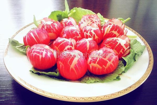 糖醋樱桃小萝卜
