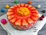 草莓酸奶慕斯蛋糕(电饭锅版)的做法[图]