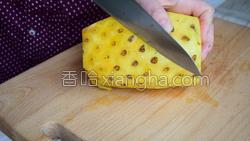 菠萝汁的做法图解3