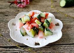 排毒养颜果蔬沙拉