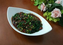 蚝油小酱拌菠菜