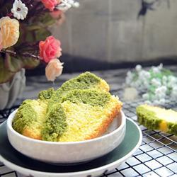 翡翠白玉磅蛋糕