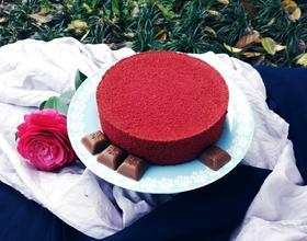 红丝绒戚风蛋糕(fluff棉花糖版)