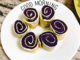 鸡蛋紫薯卷的做法[图]