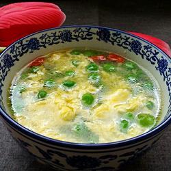 豌豆鸡蛋汤