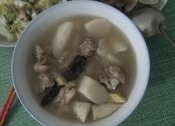 山药灵芝排骨汤