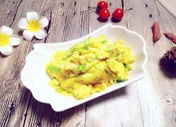 胡麻油炒葱花鸡蛋