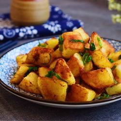孜然土豆块的做法[图]