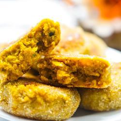 咸香南瓜饼