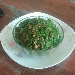茴香鲜肉饺子馅……豆瓣酱版