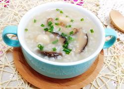 干贝香菇粥