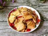 洋葱炒千叶豆腐的做法[图]
