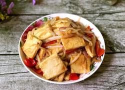 洋葱炒千叶豆腐