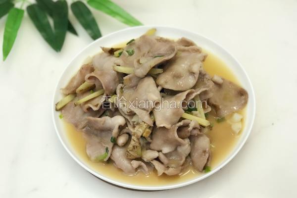 炒鱼肚(胃)