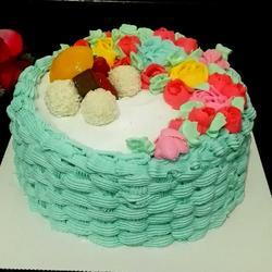 水果花篮蛋糕