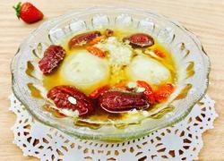 红枣枸杞酒酿蛋