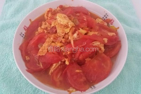 无糖版番茄炒蛋