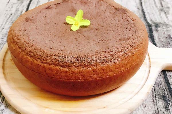 巧克力蛋糕(电饭煲)