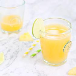凤梨柠檬红薯汁