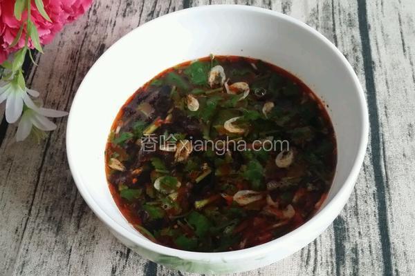 酸汤饺子的酸汤做法