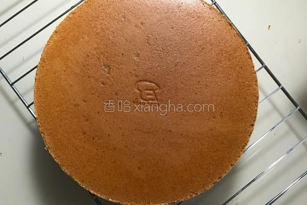 人民的名义蛋糕胚 完美8寸戚风蛋糕